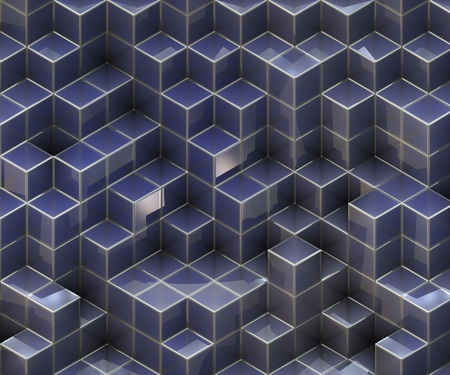 3d cubes Stock Photo - 12194354