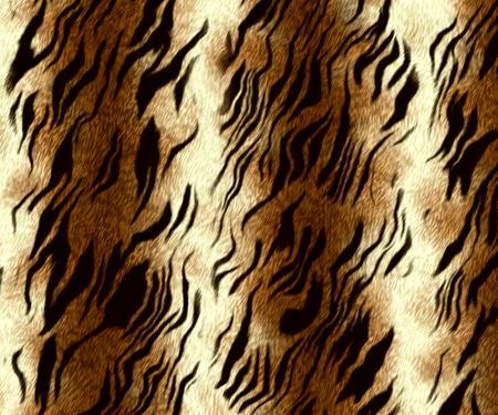 tiger fur