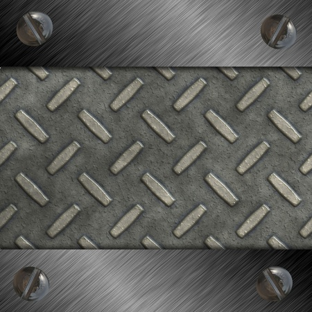 diamond plate Stock Photo - 12194391