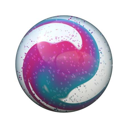 marble ball Stock Photo