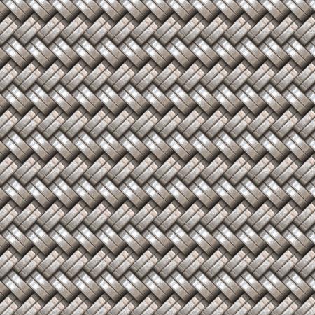 metal woven photo