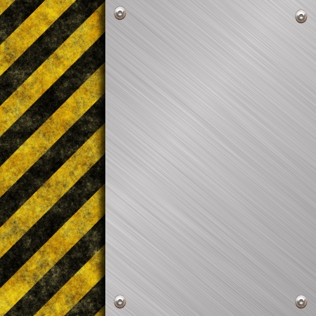 metal banner Stock Photo - 13787707