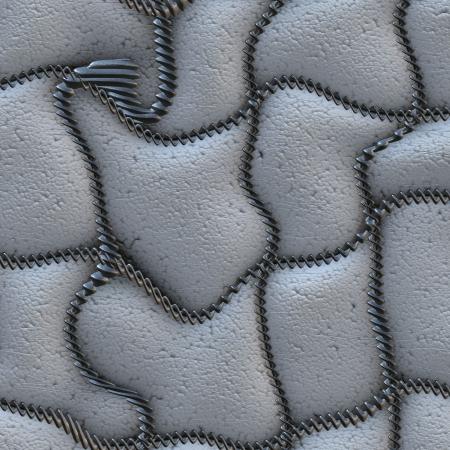 white leather Stock Photo - 13860407