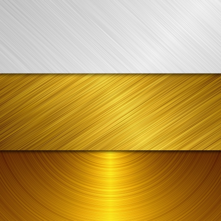 gold and silver metal Stock Photo - 13874309