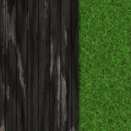 wooden banner photo