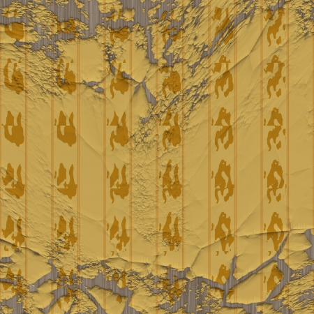 yellow pattern Stock Photo - 14127559