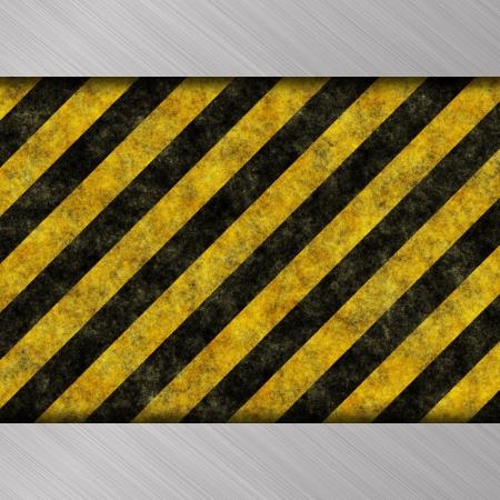 warning stripes Stock Photo - 14446288