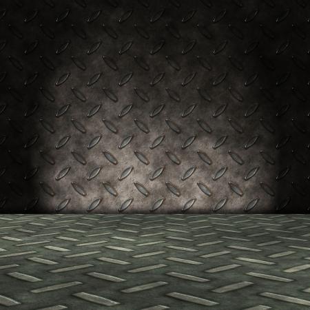 metal room photo