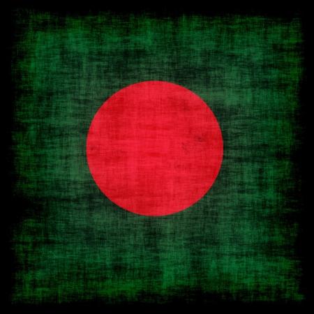 bangladesh 3d: Bangladesh grunge flag