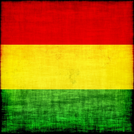 bolivia grunge flag photo
