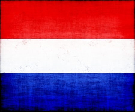 holland grunge flag photo