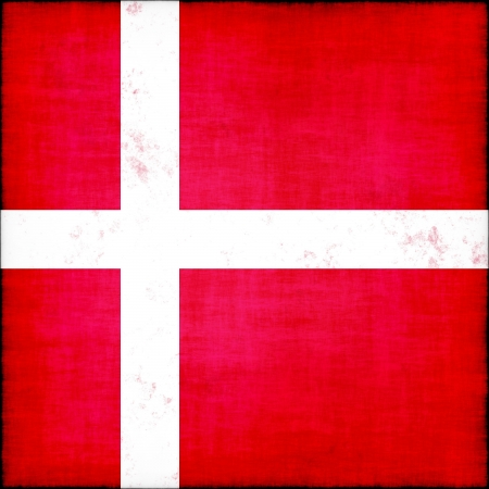 denmark grunge flag photo