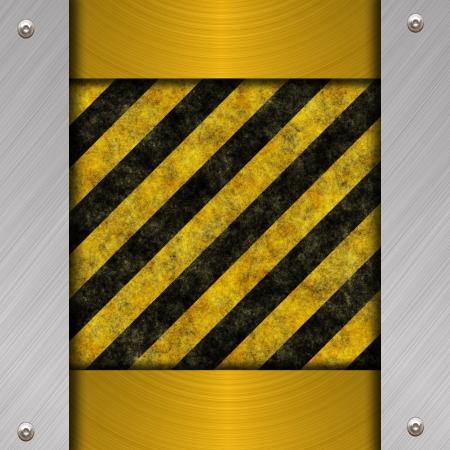 treadplate: warning background
