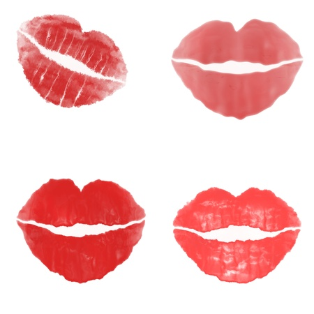 red kiss photo