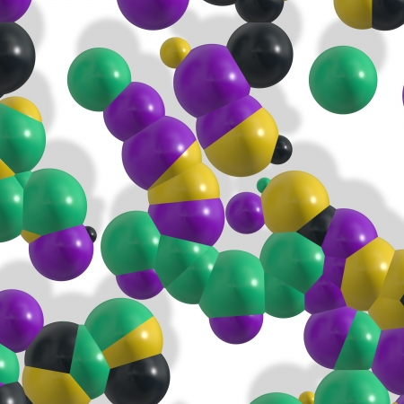 molekuul: molecule background