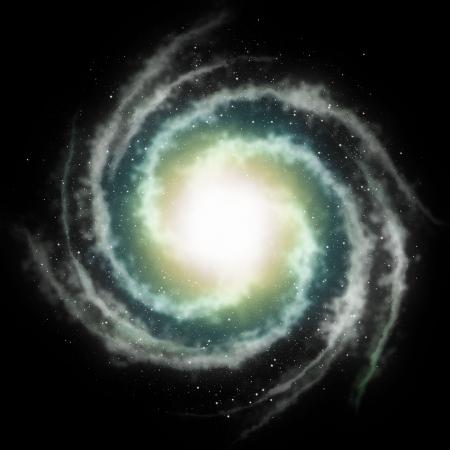 science fiction: nebula sky