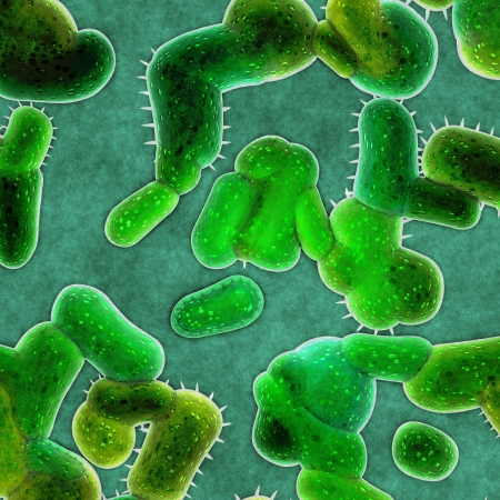 bacteria cells Stock Photo - 14982394