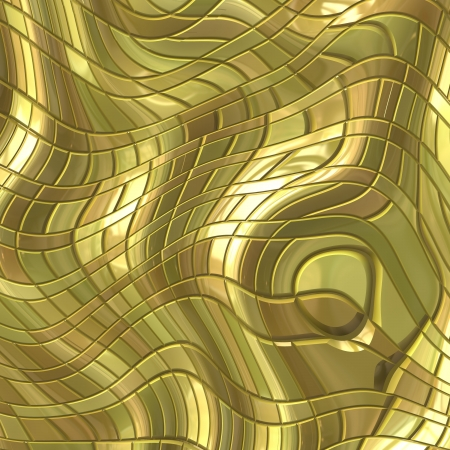golden background: gold metal