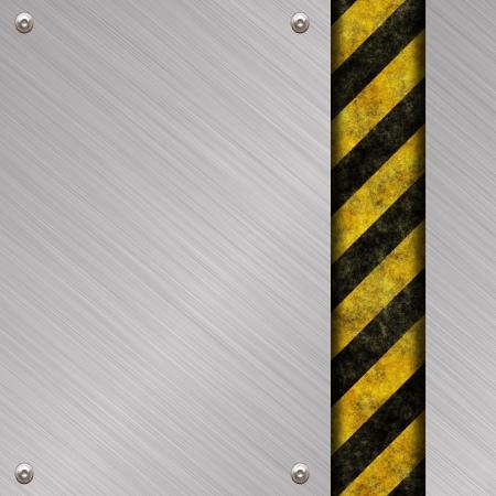 treadplate: metal sign