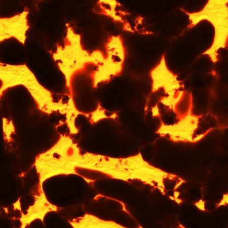 convulsion: lava background