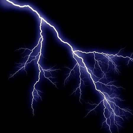 rayo electrico: El trueno azul