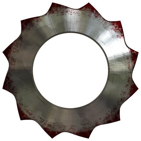 compensatory: metal saw