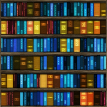 books in library Stock Photo - 15703270