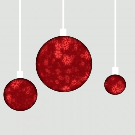 red christmas decoration photo
