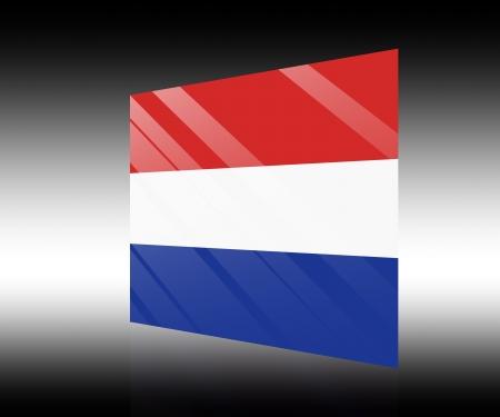 drapeau hollande: hollande drapeau Banque d'images