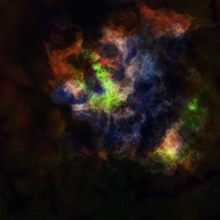 nebula sky Stock Photo - 18297755