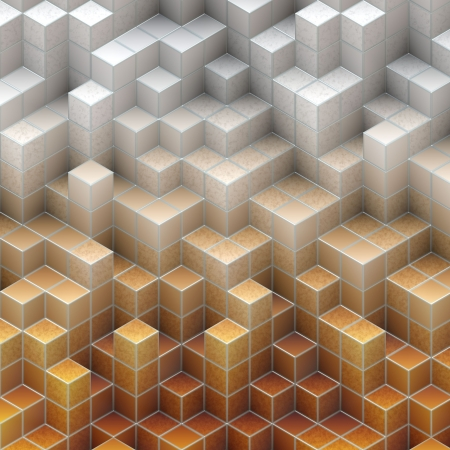 abstract cubes Stock Photo - 18374977