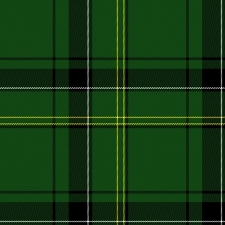 red plaid: green background