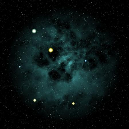 nebula sky Stock Photo - 18597358