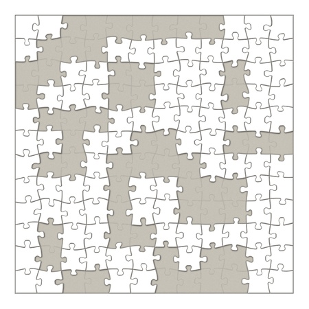 puzzle background Stock Photo - 21494664
