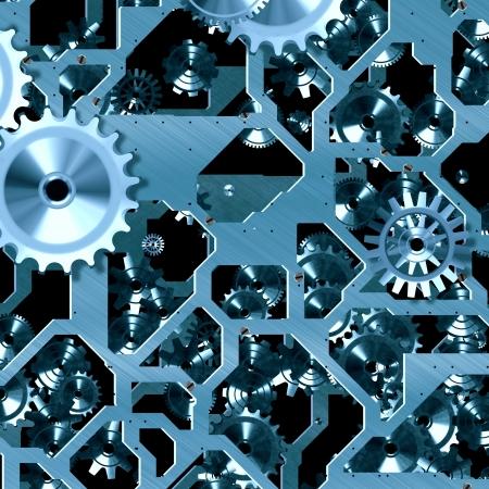 clockwork mechanism Stock Photo - 21494685