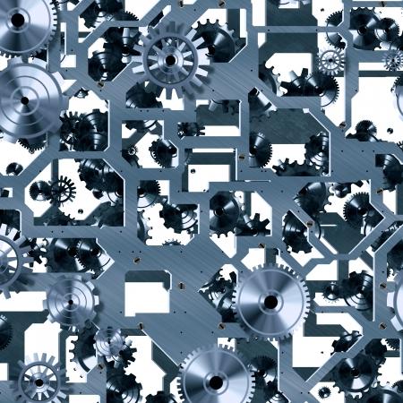 clockwork mechanism Stock Photo - 21494688