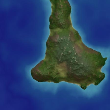 island in sea Stock Photo - 21494697