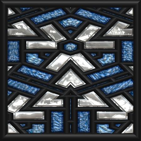 mosaic window photo