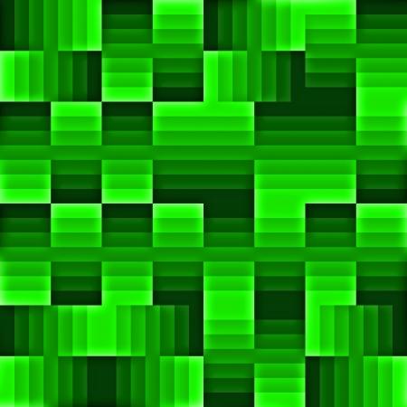 green cubes photo
