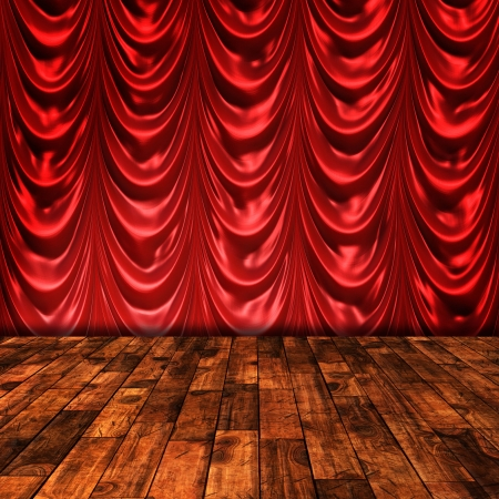stage background photo