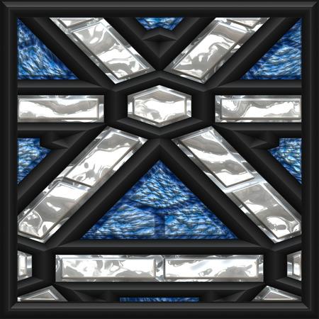blue window photo
