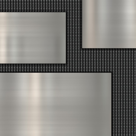 abstract metal template photo