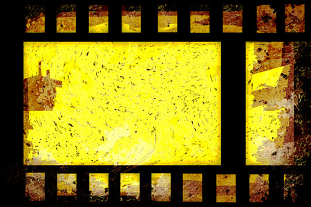 old grunge film strip frame photo