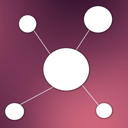affiliates: social network concept