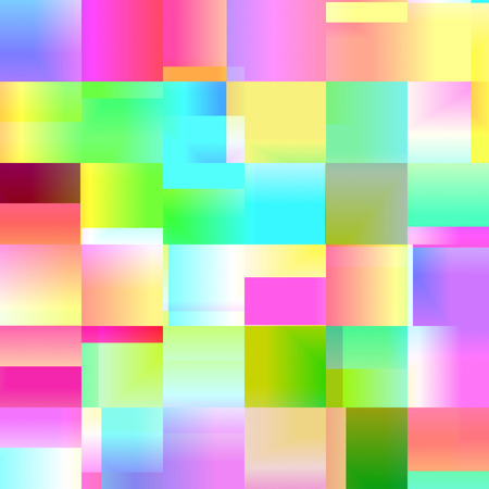 colorful square background