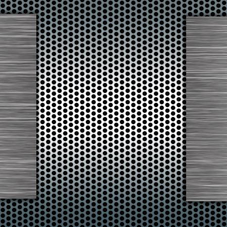 metal template: metal template Stock Photo
