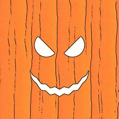 jack'o'lantern: Scary old jack-o-lantern