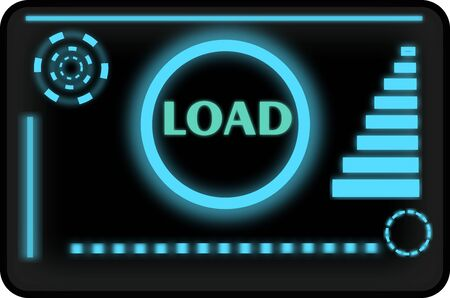 Load Screen With Motion Design Elements
