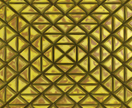 3D Forms and shapes Background with shiny and distorted triangles Cover Imagens