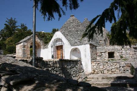 puglia: An historical trullo in Alberobello, Puglia, Italy